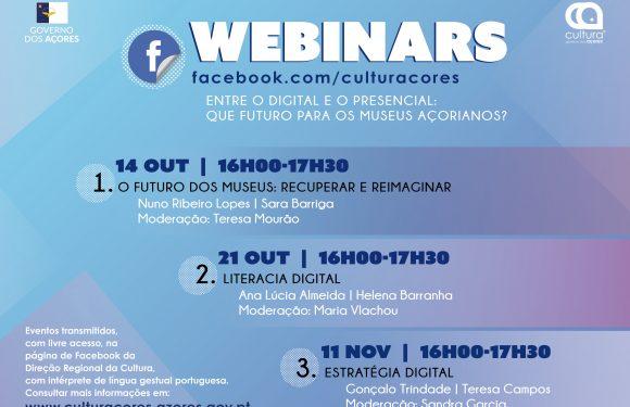 Ciclo de 'webinars' debate futuro dos museus Açorianos