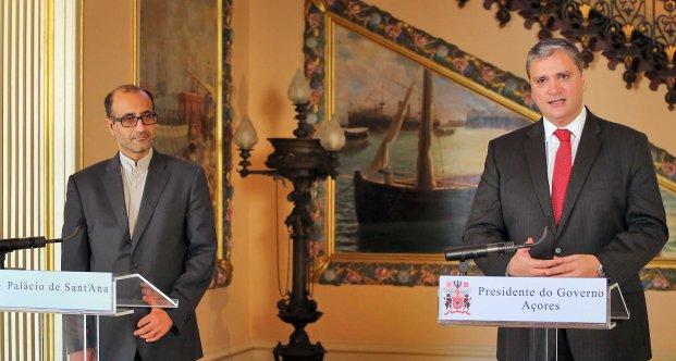 Presidente do Governo recebeu Embaixador do Irão em Portugal