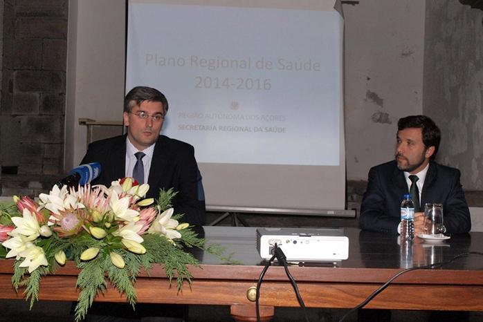 Plano Regional de Saúde visa melhorar o nível de saúde dos açorianos, afirma Luís Cabral