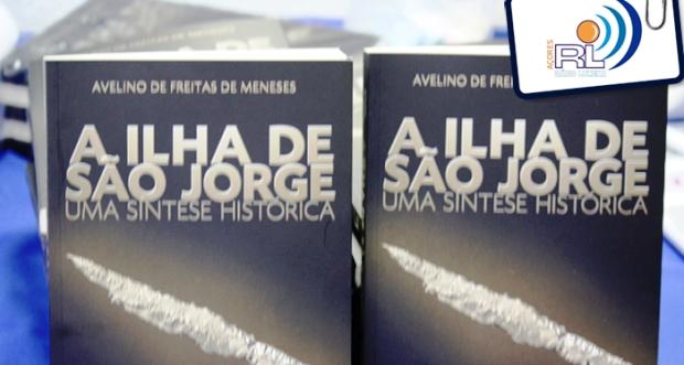 """""""A Ilha de São Jorge – Uma Síntese Histórica"""" de Avelino de Meneses apresentado na EBS da Calheta (c/audio)"""