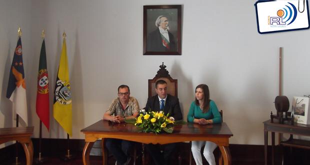 Alunos estrangeiros inseridos no projeto Comenius recebidos nos Paços do Concelho