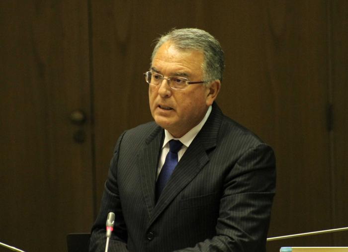 """""""O Serviço Regional de Saúde está cada vez mais capacitado para resolver os problemas de cada Açoriano"""", defendeu Domingos Cunha"""