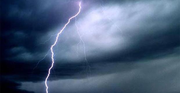 Proteção Civil alerta para previsão de chuva forte e trovoada nos grupos Central e Oriental dos Açores