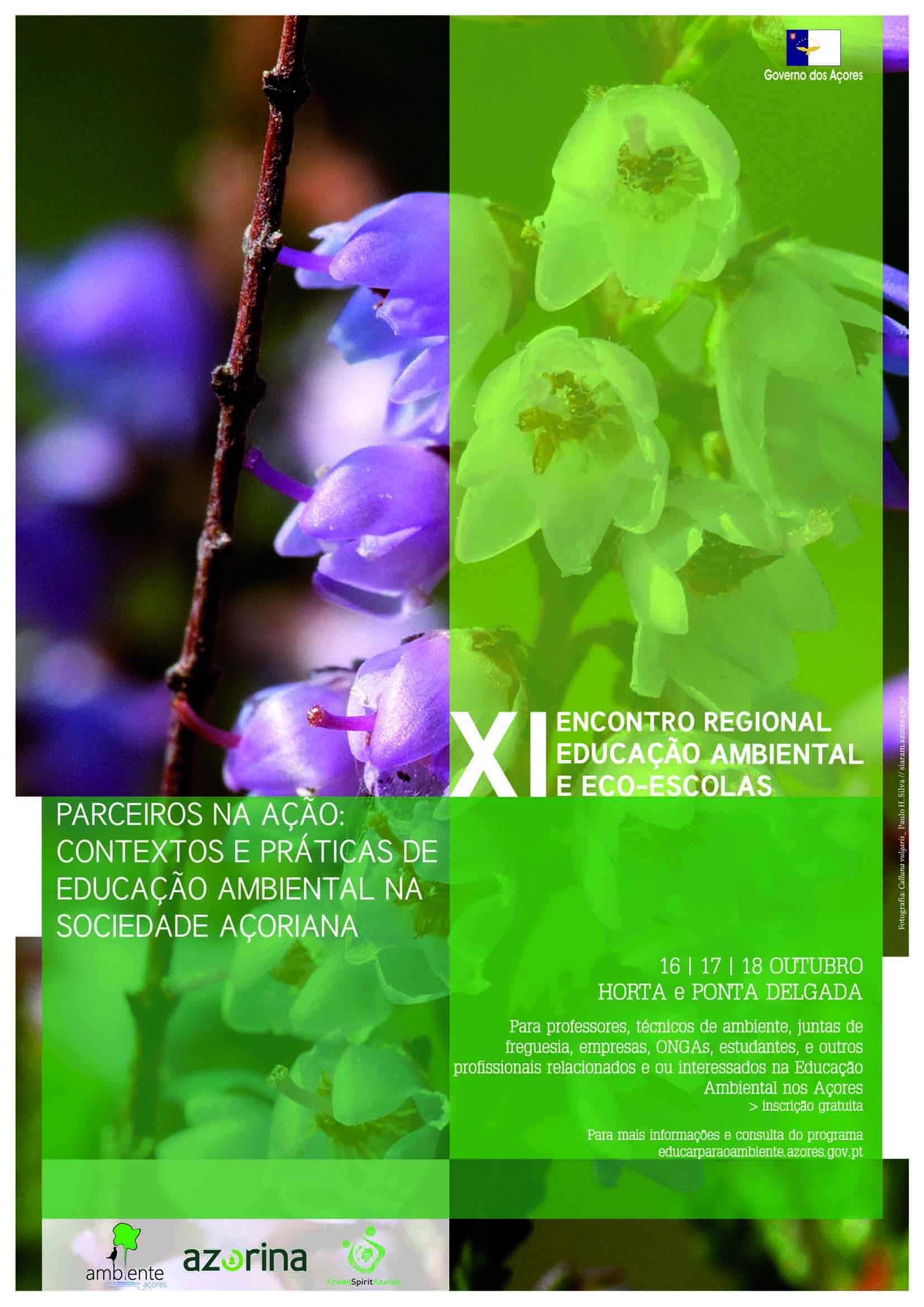 XI Encontro Regional de Educação Ambiental e Eco-Escolas decorre entre 16 e 18 de outubro