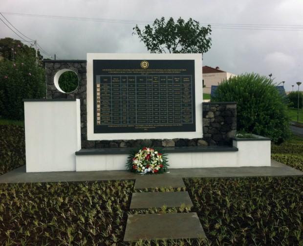 Voto de louvor e saudade em Monumento de Homenagem aos Ex-combatentes de S.Jorge falecidos