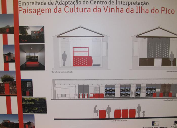 Governo dos Açores adjudica ampliação do Centro de Interpretação da Paisagem da Cultura da Vinha, no Pico