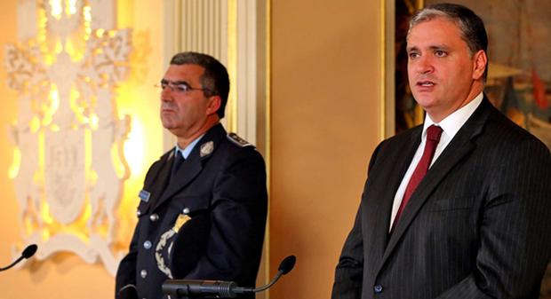 Vasco Cordeiro recebe novo Comandante Regional da PSP