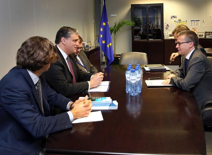 Vasco Cordeiro reforça junto de Comissários a importância das Regiões na concretização das políticas europeias
