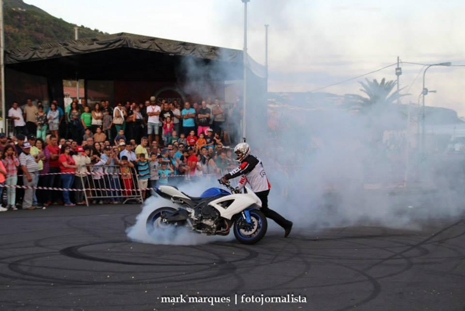 Piloto de Freestyle Paulo Matias esteve em São Jorge