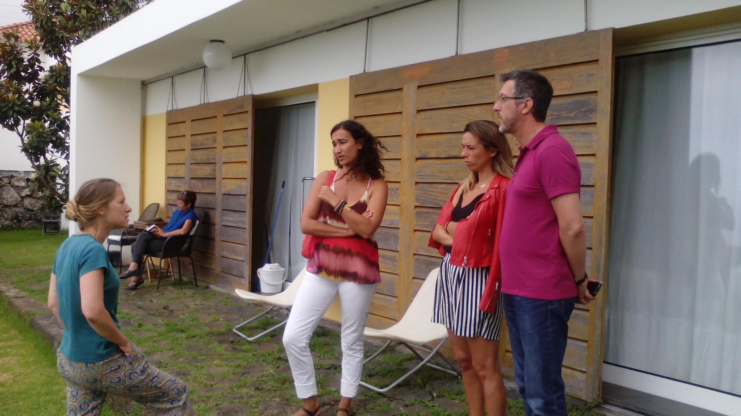 Rosa Dart visita empreendimento turístico em São Jorge e critica políticas da SATA (c/áudio)