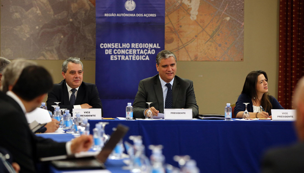 Há um consenso entre Governo e parceiros sociais na análise positiva aos indicadores económicos dos Açores, afirma Sérgio Ávila