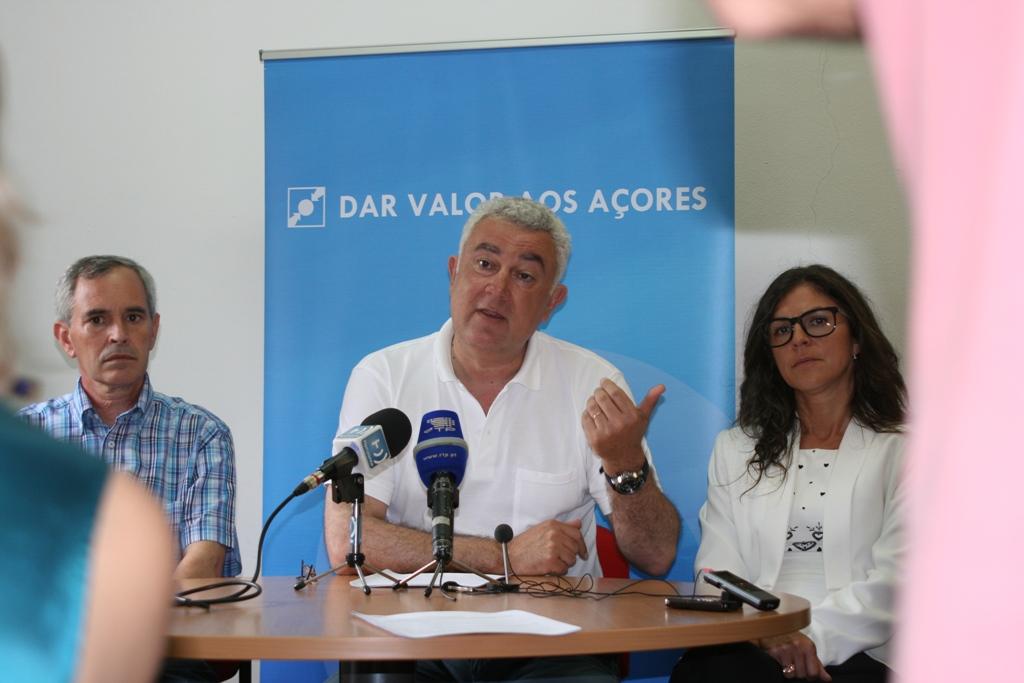 Milhões para investir no mar e EasyJet a voar para as Lajes, anuncia Artur Lima