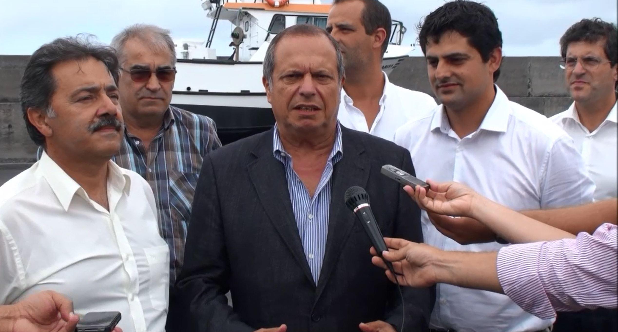Propostas do PS vão beneficiar pesca nos Açores, garante Carlos César