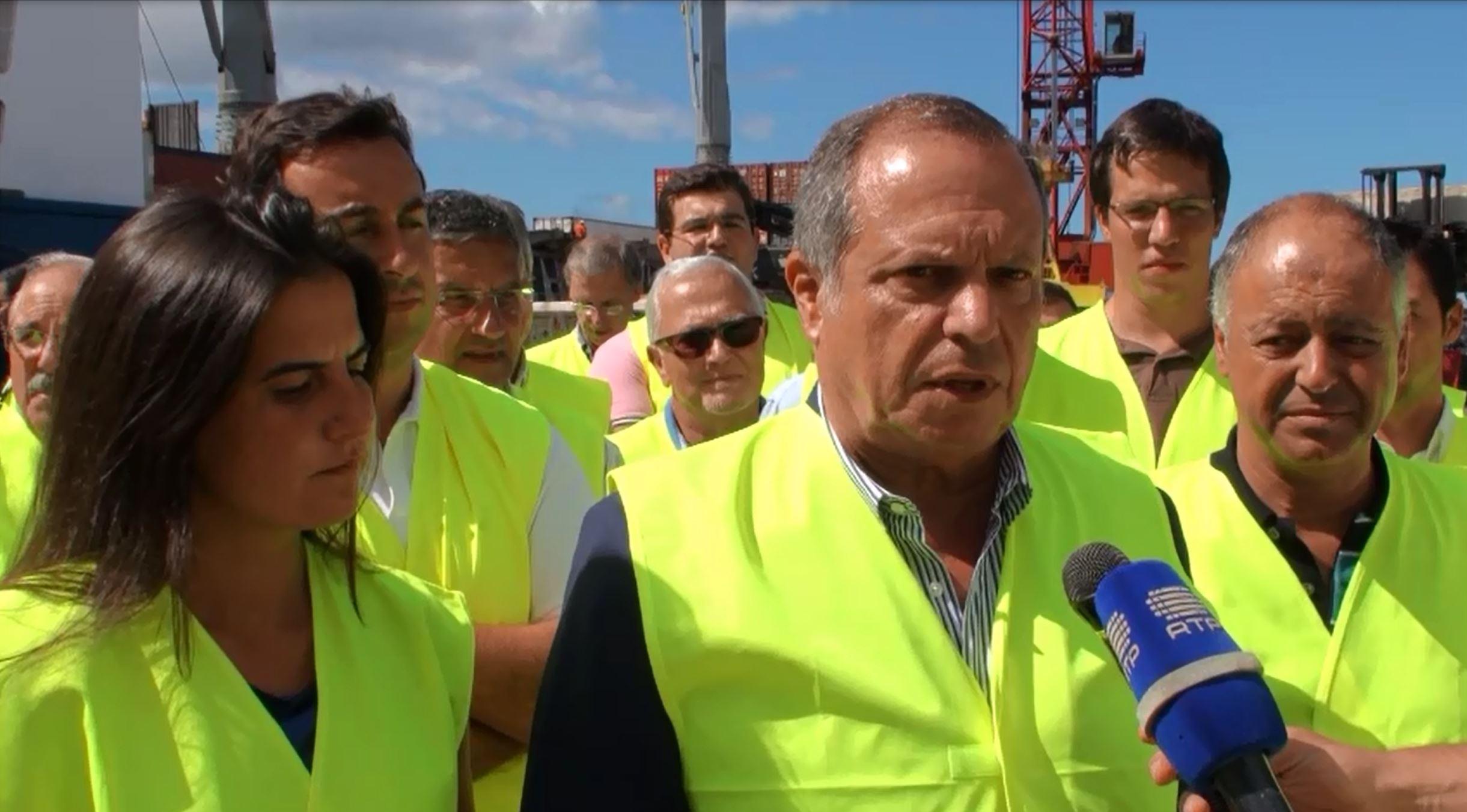 Governo do PS na República ajudará a incrementar economia terceirense, considera Carlos César