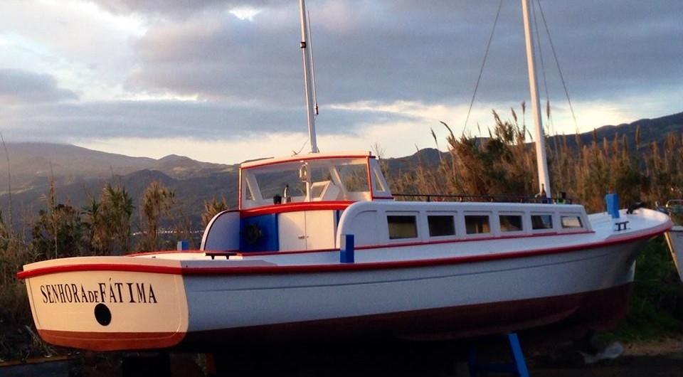Lancha Baleeira Senhora de Fátima regressa às origens 4 anos depois (c/áudio)