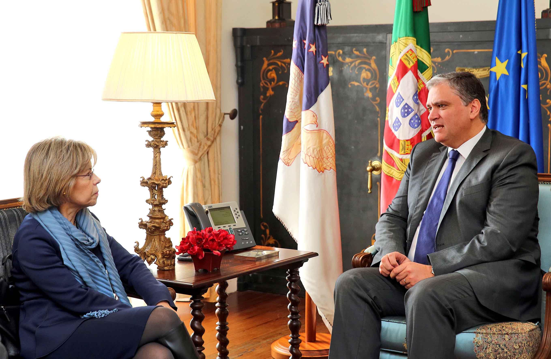 Presidente do Governo recebeu candidata Maria de Belém Roseira