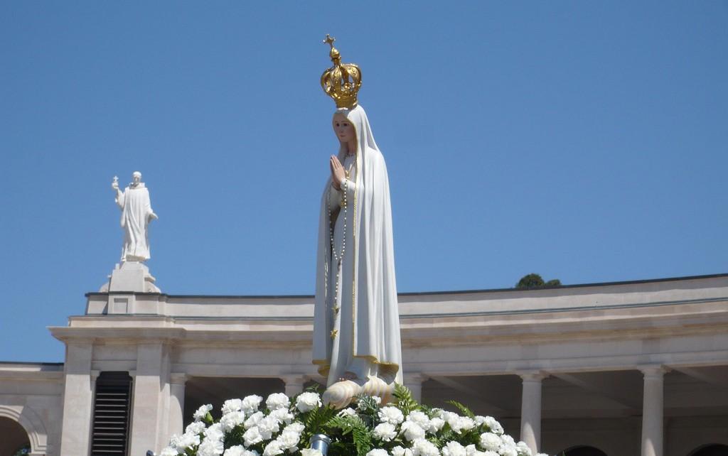 Imagem Peregrina de Nossa Senhora de Fátima em São Jorge de 14 a 17 de fevereiro