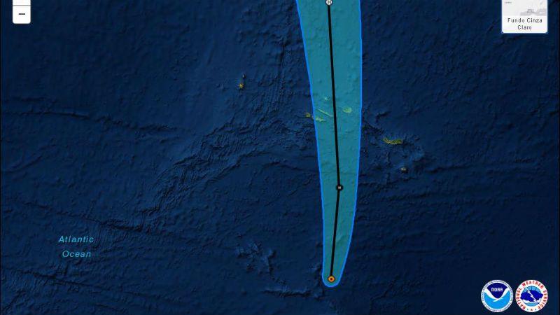 São Jorge chegou a ser das ilhas mais ameaçadas pela trajetória do Alex, mas furacão passou sem causar estragos (c/áudio)