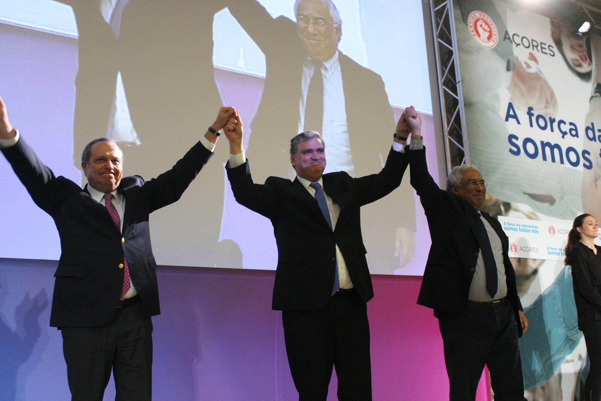 """""""Estamos prontos para servir os Açores com a força da Autonomia que é, afinal, a força de todos nós"""", salientou Vasco Cordeiro."""