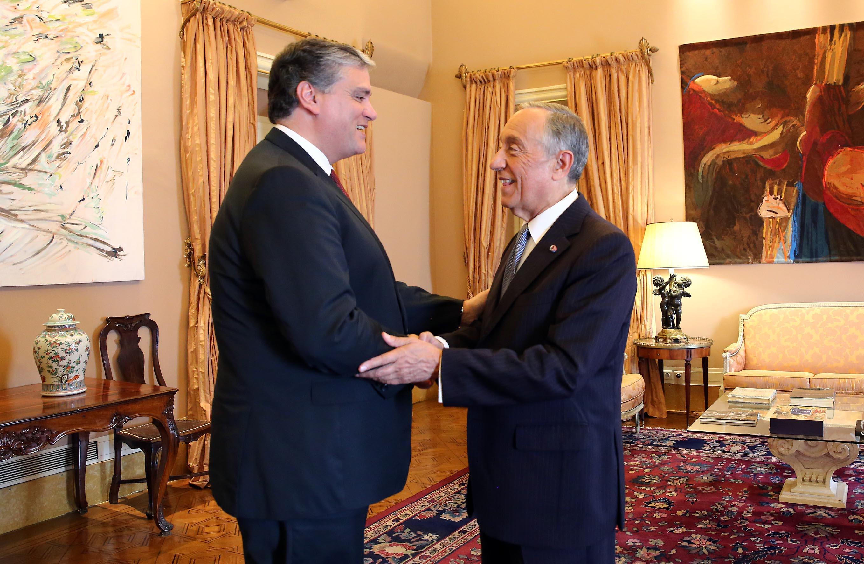 Presidente do Governo dos Açores reuniu com o Presidente da República