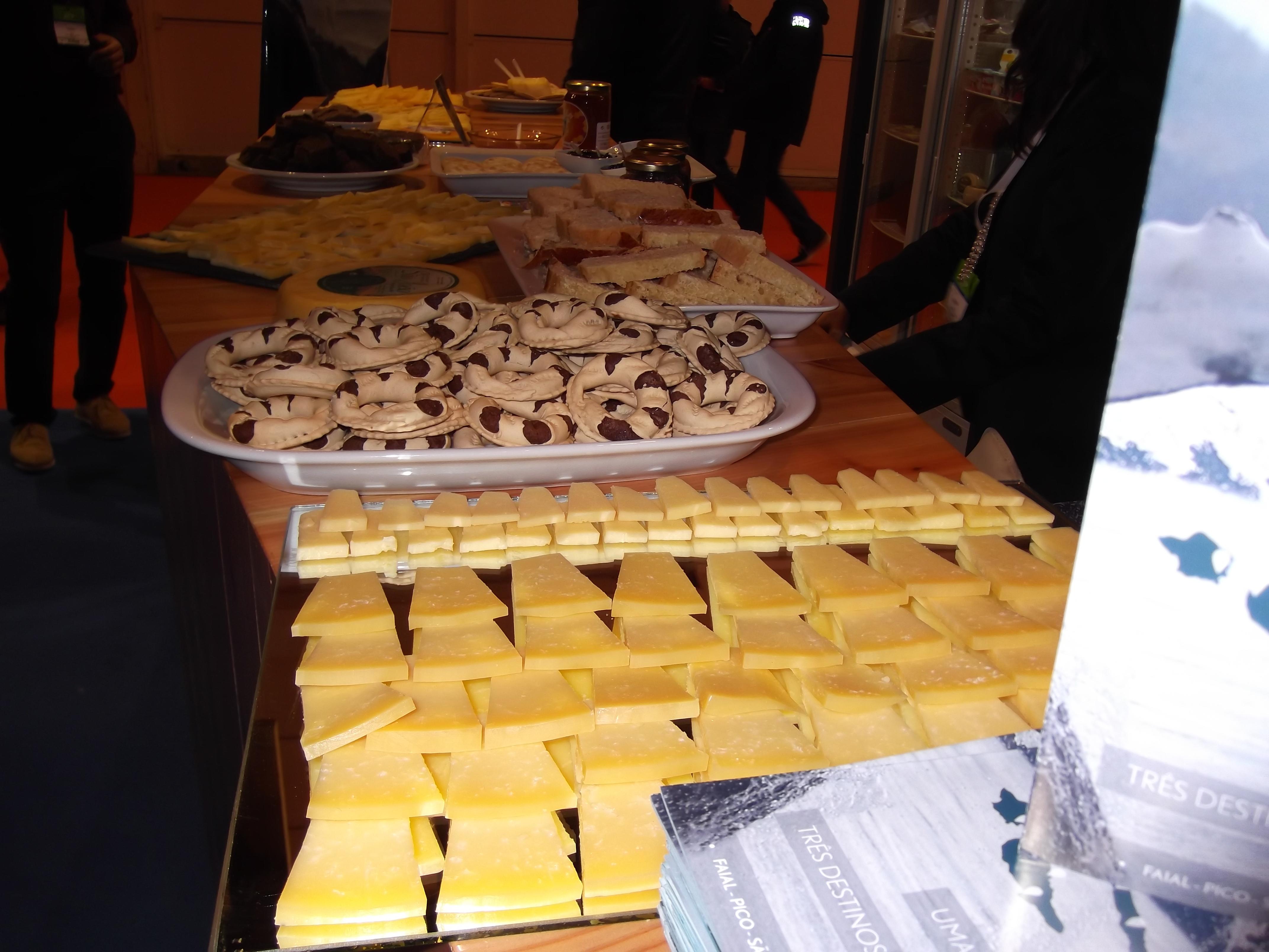 Ilhas do Triângulo promovidas na BTL – Espécie e queijo de São Jorge estiveram em destaque no leque dos produtos (c/áudio)