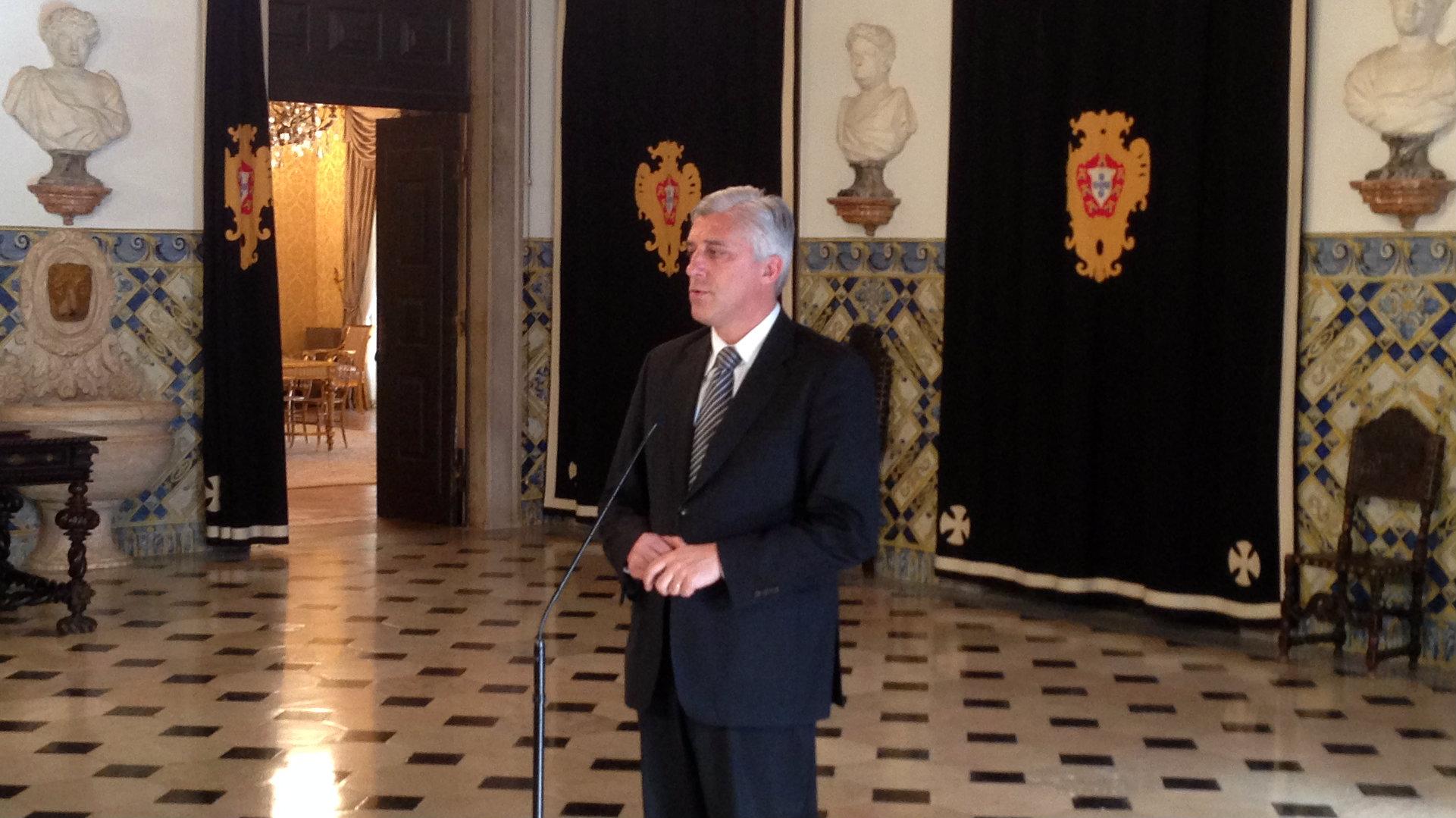 Duarte Freitas alerta Presidente da República para crise na agricultura e pescas