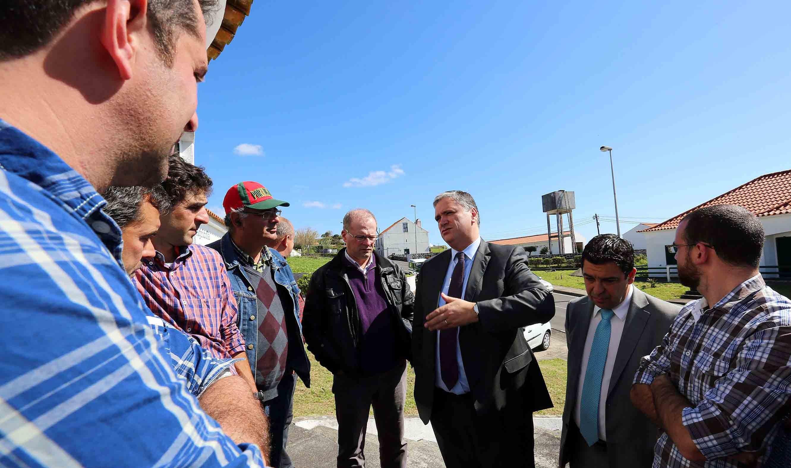 Governo garante apoios para agricultores ultrapassarem atual situação o melhor possível, afirma Vasco Cordeiro