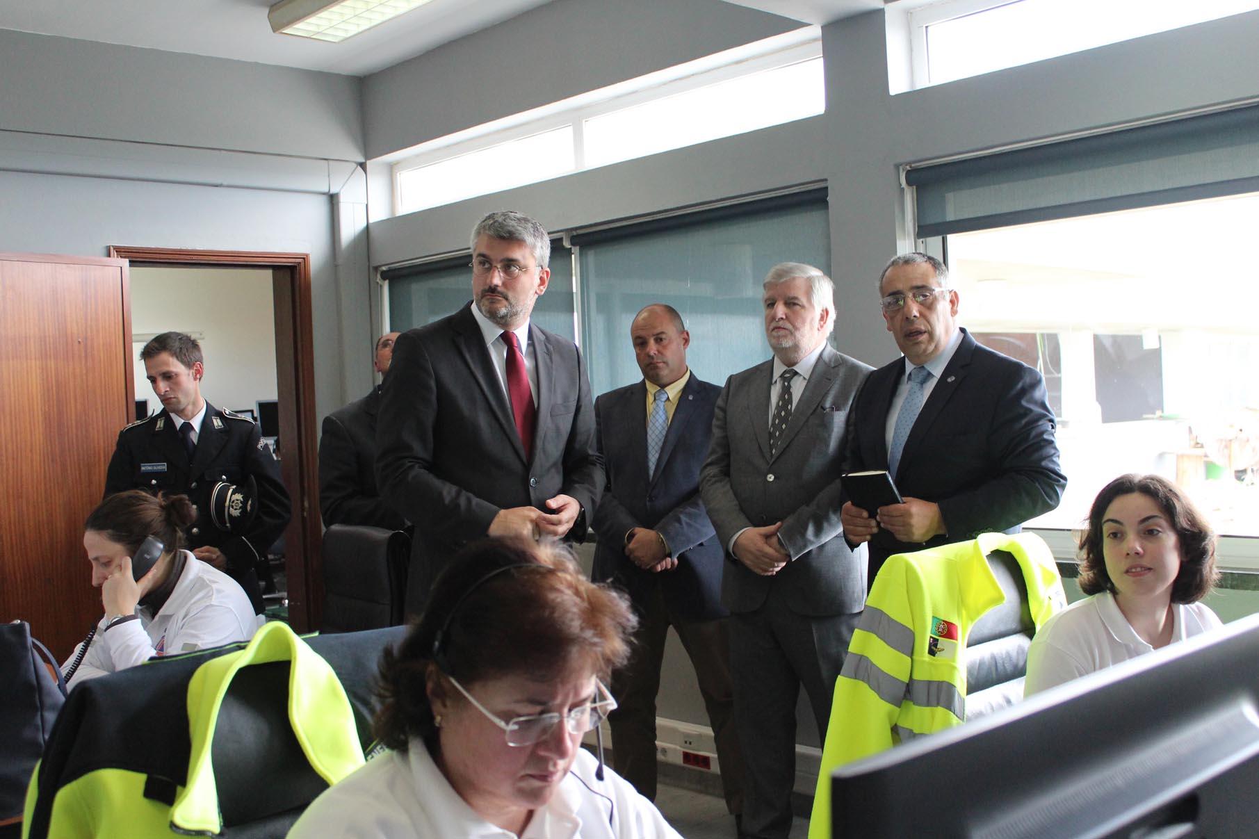 Luís Cabral destaca relação de proximidade entre governos da Região e da República na área da Proteção Civil