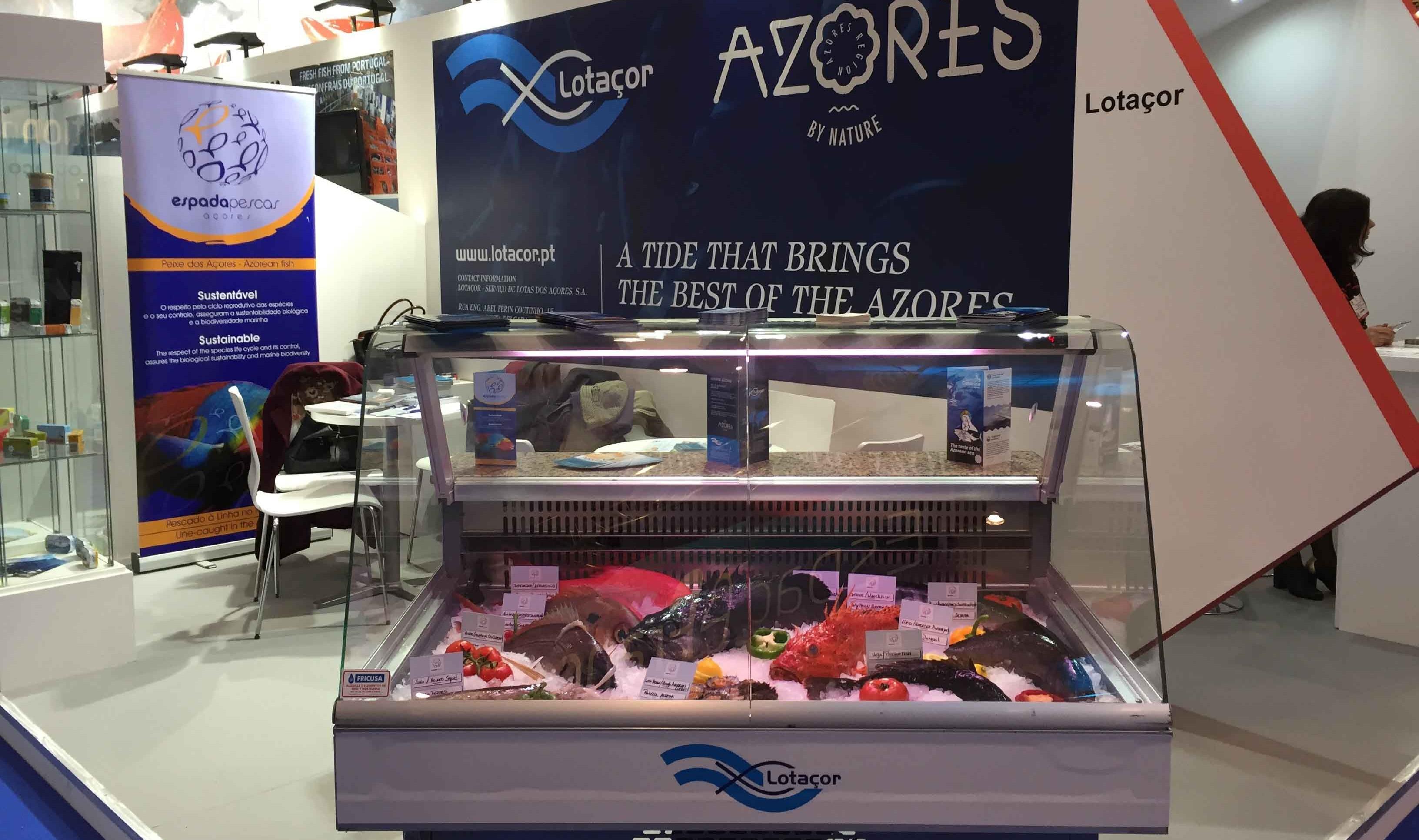 Produtos do Mar dos Açores presentes na Seafood Expo Global, em Bruxelas