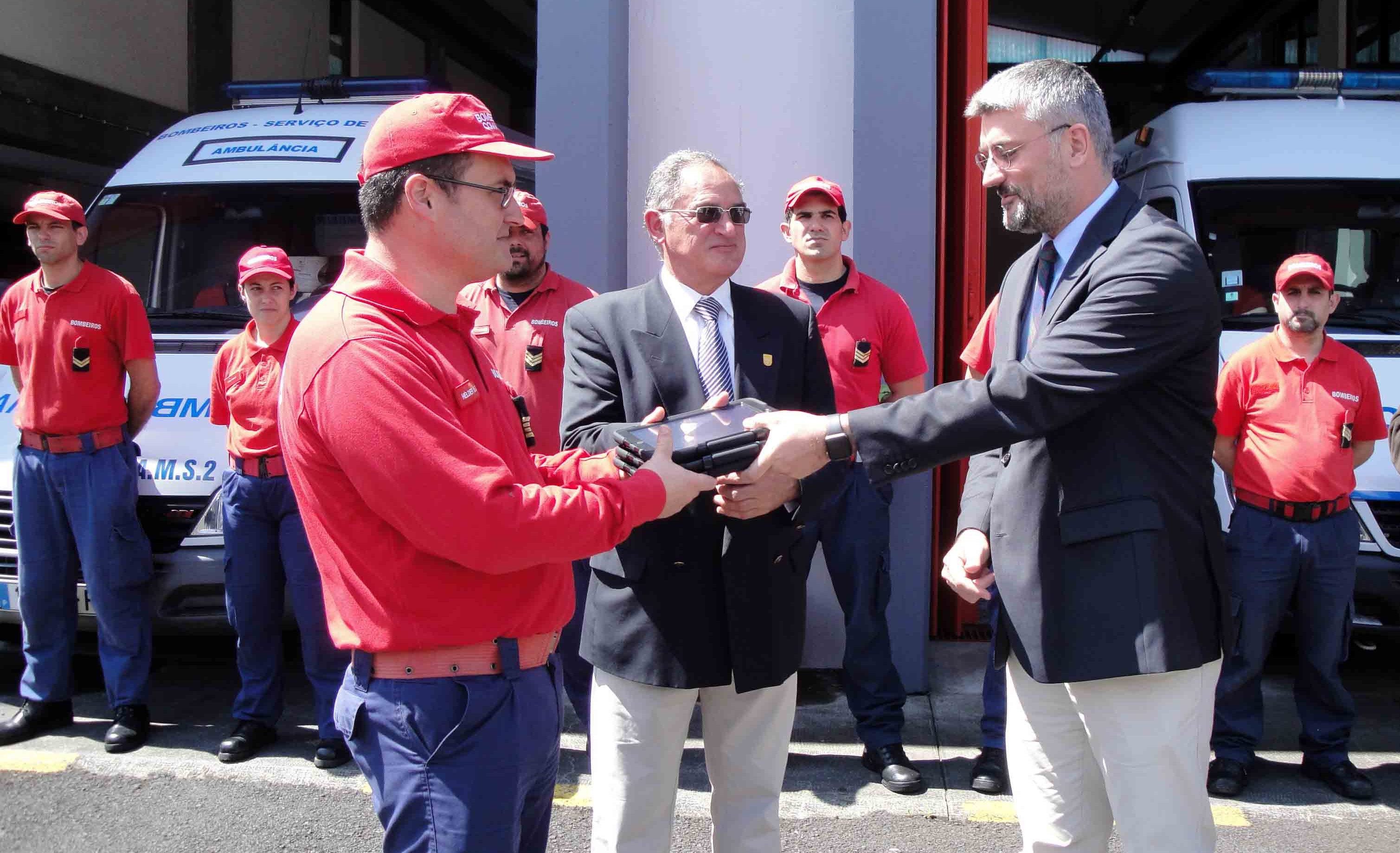Corporações de bombeiros dos Açores já possuem todas verbetes eletrónicos