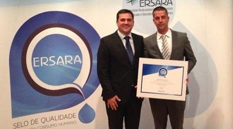 Câmara Municipal das Velas recebeu selo de qualidade de água pela ERSARA (c/áudio)