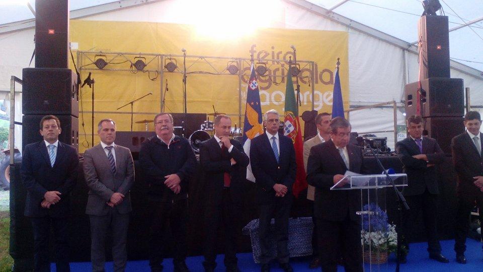 Na abertura da Feira Agrícola grandes elogios ao Queijo de São Jorge (c/áudio)