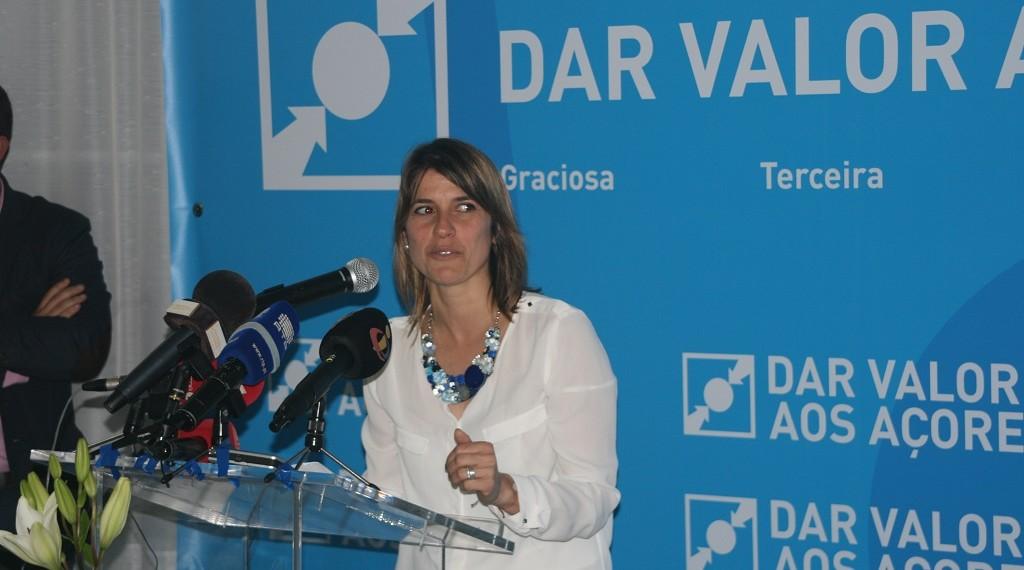 Catarina Cabeceiras é cabeça de lista do CDS por São Jorge às próximas eleições regionais (c/áudio)
