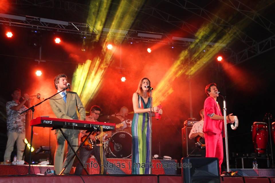 Os Azeitonas entusiasmados por tocar na Semana Cultural das Velas e encantados com S.Jorge (c/áudio)