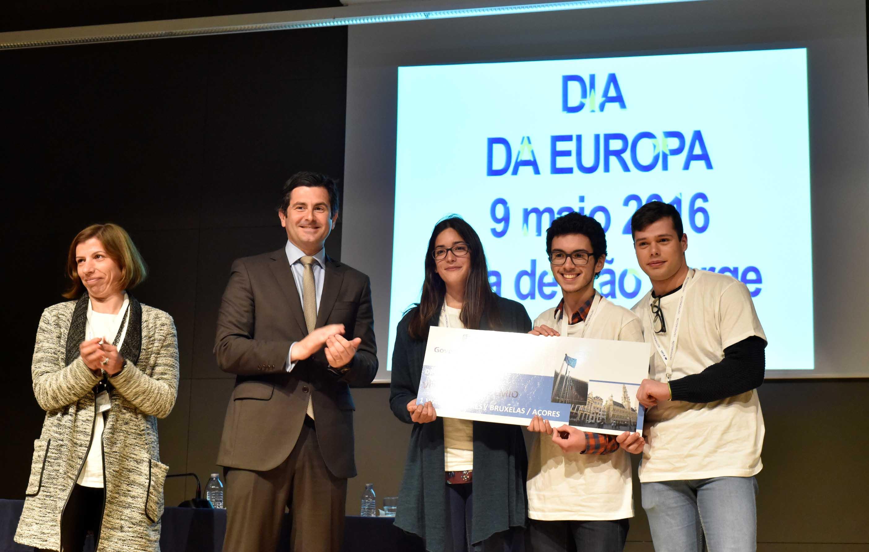 Governo dos Açores promove visita de jovens estudantes do Faial a Bruxelas