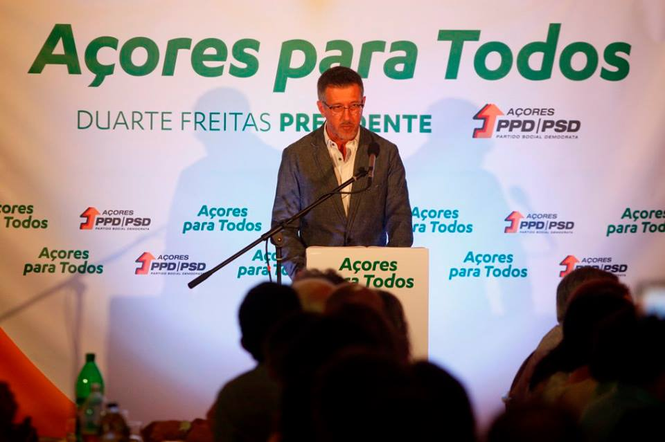 António Pedroso acusa PS de ser responsável pela perda de população em São Jorge (c/áudio)