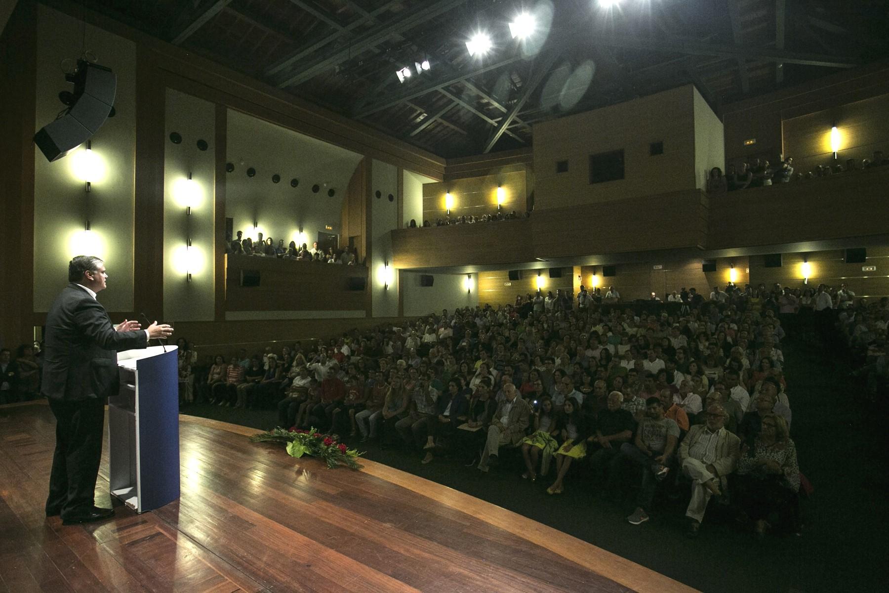 Vasco Cordeiro apela à mobilização dos Açorianos para as eleições de 16 de Outubro
