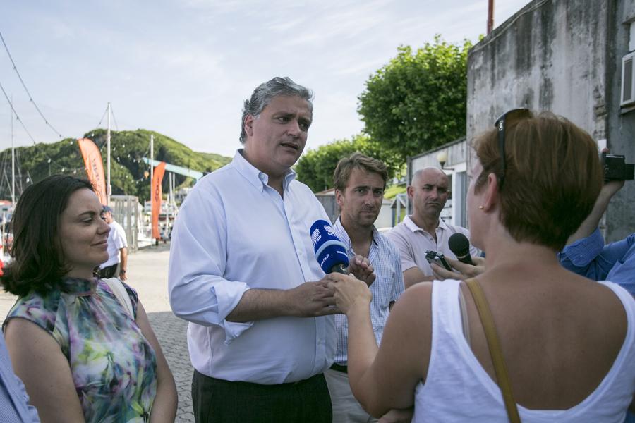 Vasco Cordeiro salienta o crescimento do turismo na ilha do Faial