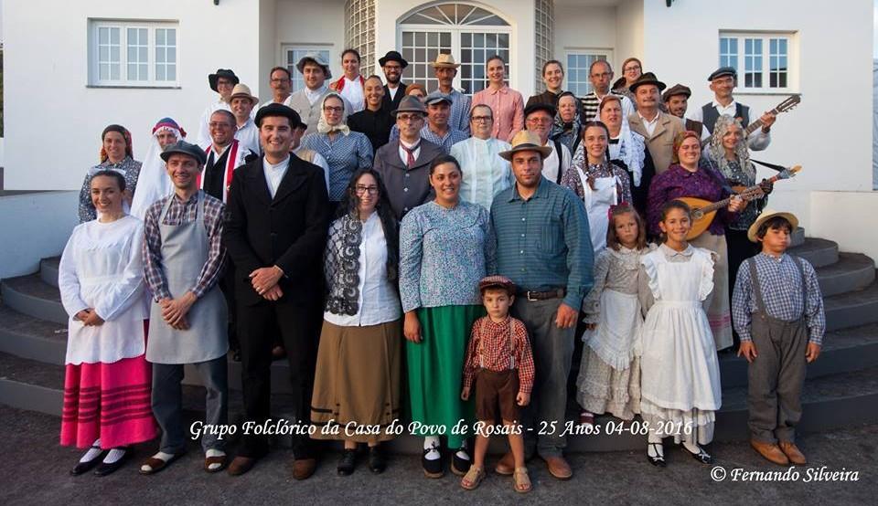 Grupo de Folclore de Rosais homenageado no parlamento pelas suas Bodas de Prata com votos do PS e CDS (c/vídeo)