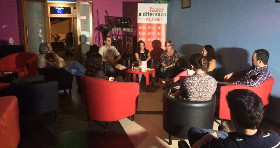 Zuraida Soares e Paulo Fontes lamentam despovoamento de S.Jorge (c/áudio)