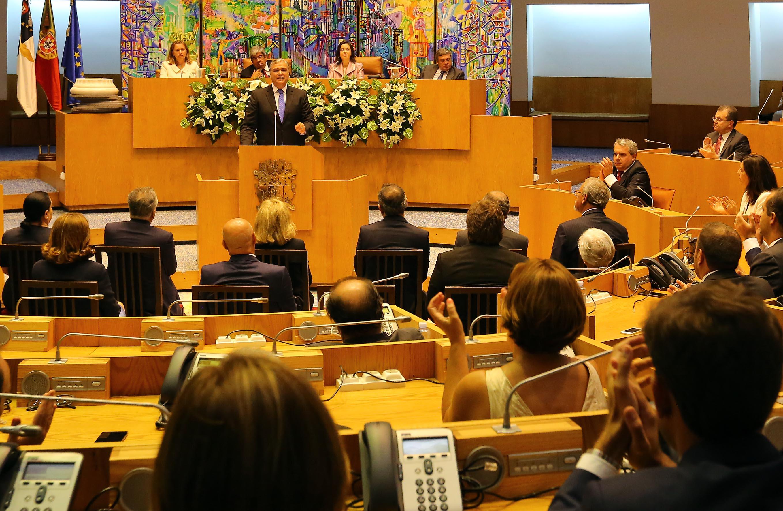 """""""Foi e é sempre a Autonomia que fez e faz a diferença"""" no desenvolvimento social e económico dos Açores, afirma Vasco Cordeiro"""