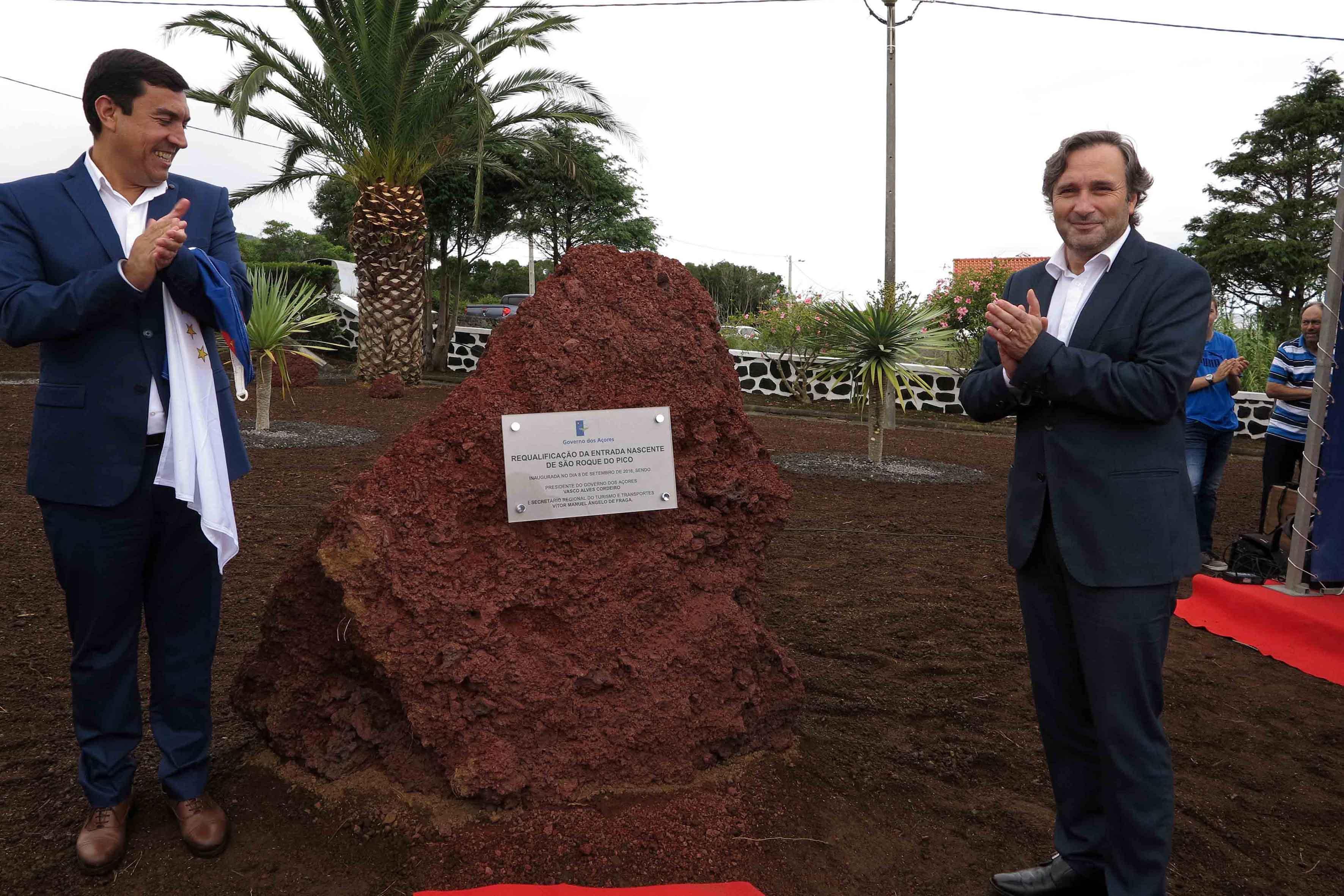 Governo dos Açores investiu 4,5 ME na rede viária do Pico nesta legislatura, afirma Vítor Fraga