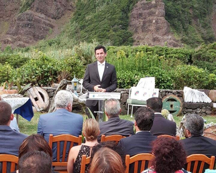 Rodrigo Oliveira congratula-se com reconhecimento do trabalho em parceria com as Casas dos Açores