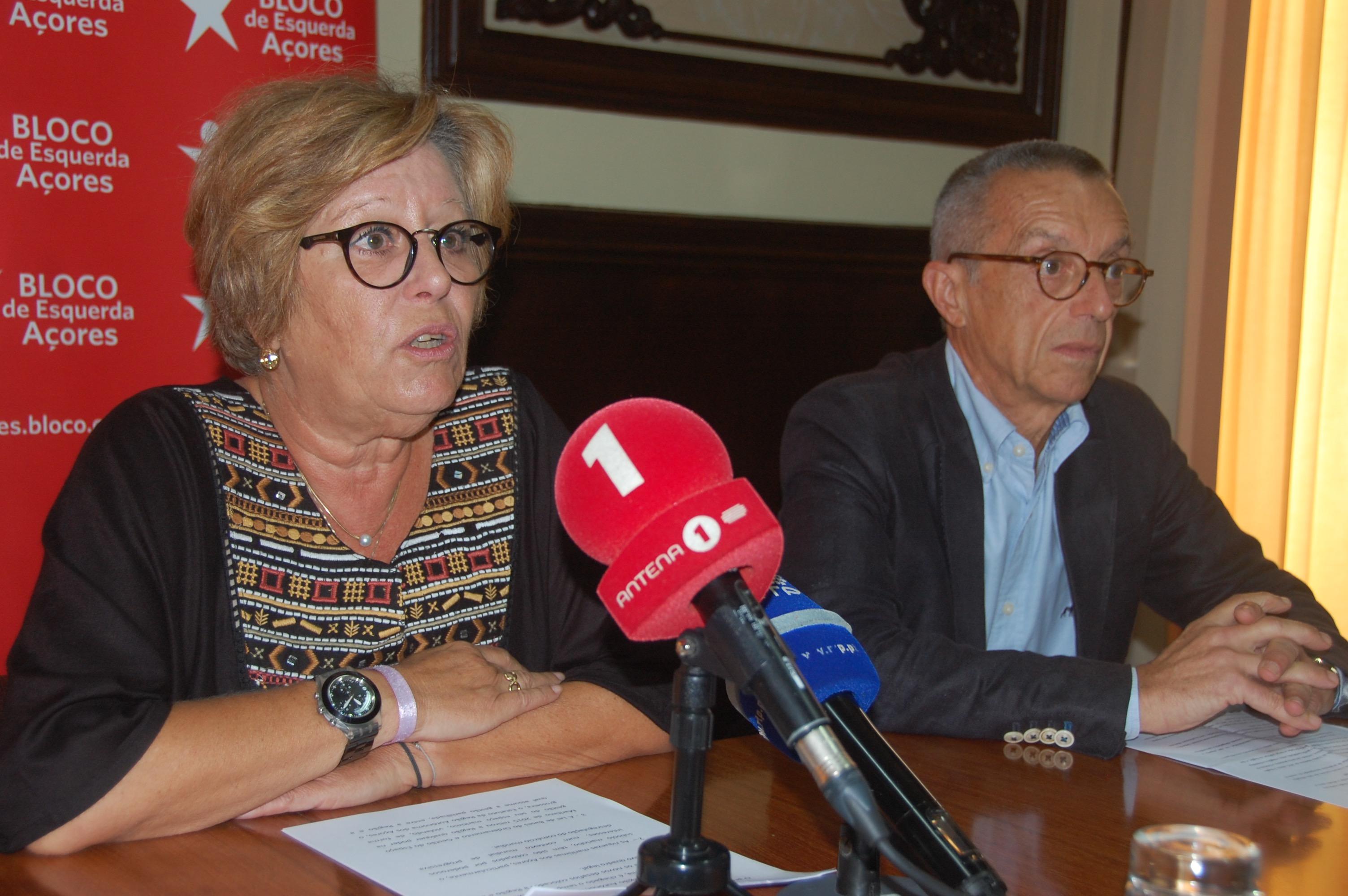BE quer reforçar poderes da Região com alterações ao Estatuto Político-Administrativo