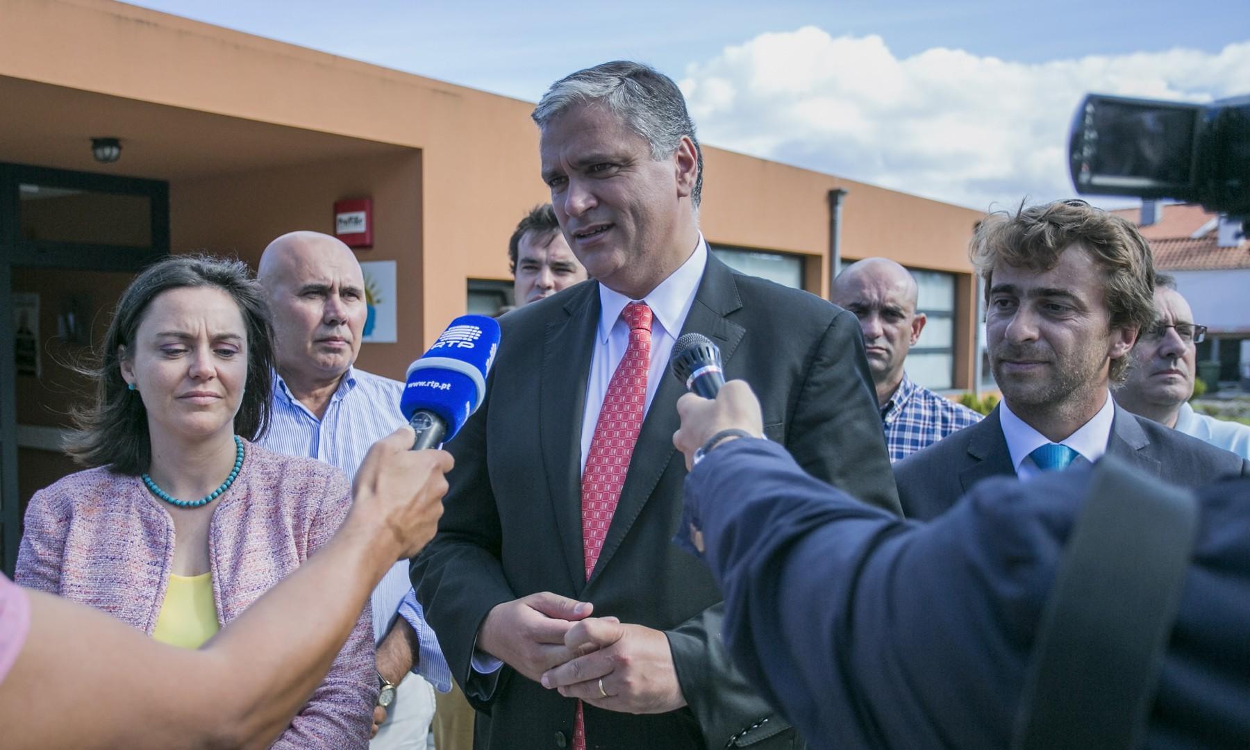 """""""Políticas de solidariedade social são um dos grandes ativos do Partido Socialista"""", considerou Vasco Cordeiro"""