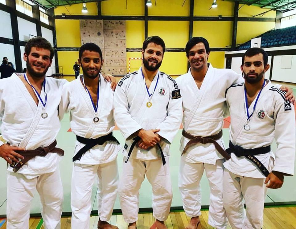 Ouro, prata e bronze para judocas jorgenses