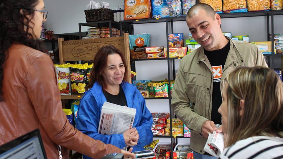 Com balanço positivo da campanha e com boa aceitação da mensagem no porta a porta, BE em São Jorge já se sente vitorioso (Reportagem c/áudio)