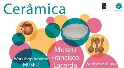 Museu Francisco de Lacerda e CRAA promovem Oficina de Cerâmica (c/áudio)