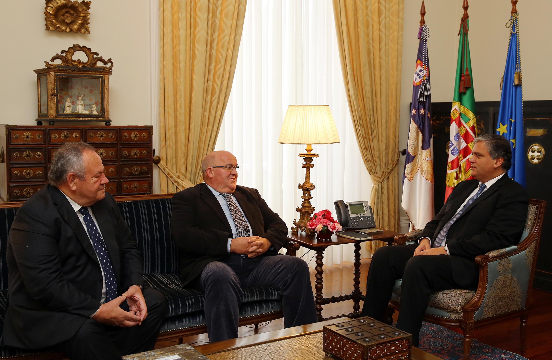 Presidente do Governo recebeu Delegação dos Açores da ANAFRE