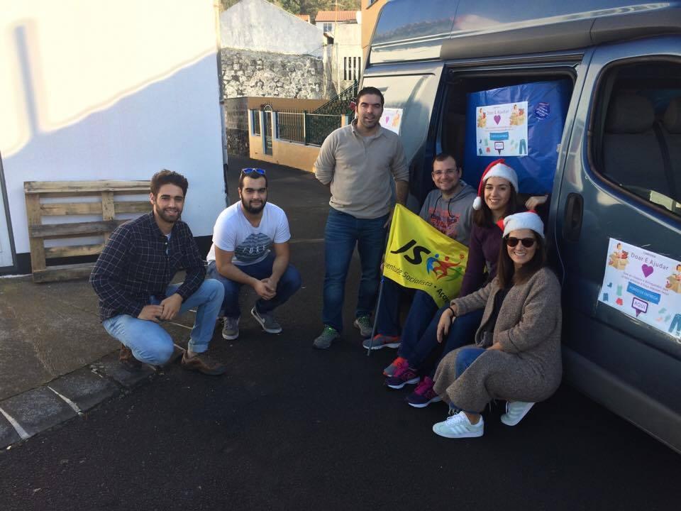 """Campanha da JS – """"Doar é Ajudar"""" – foi um sucesso em São Jorge (c/áudio)"""